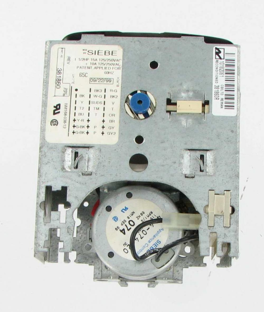 Whirlpool Laundry Washer Timer 381860R by Premium Power