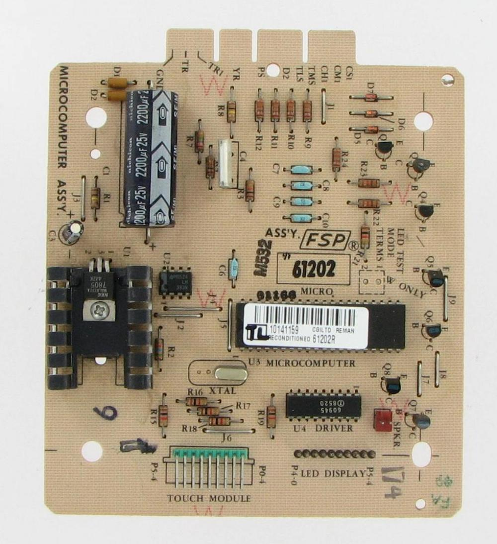 Whirlpool Dryer Control Board 61202R by Premium Power