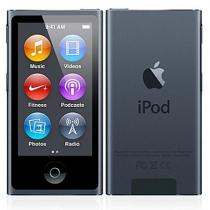 IPN7B16 iPod Nano 7th Gen Black 16GB