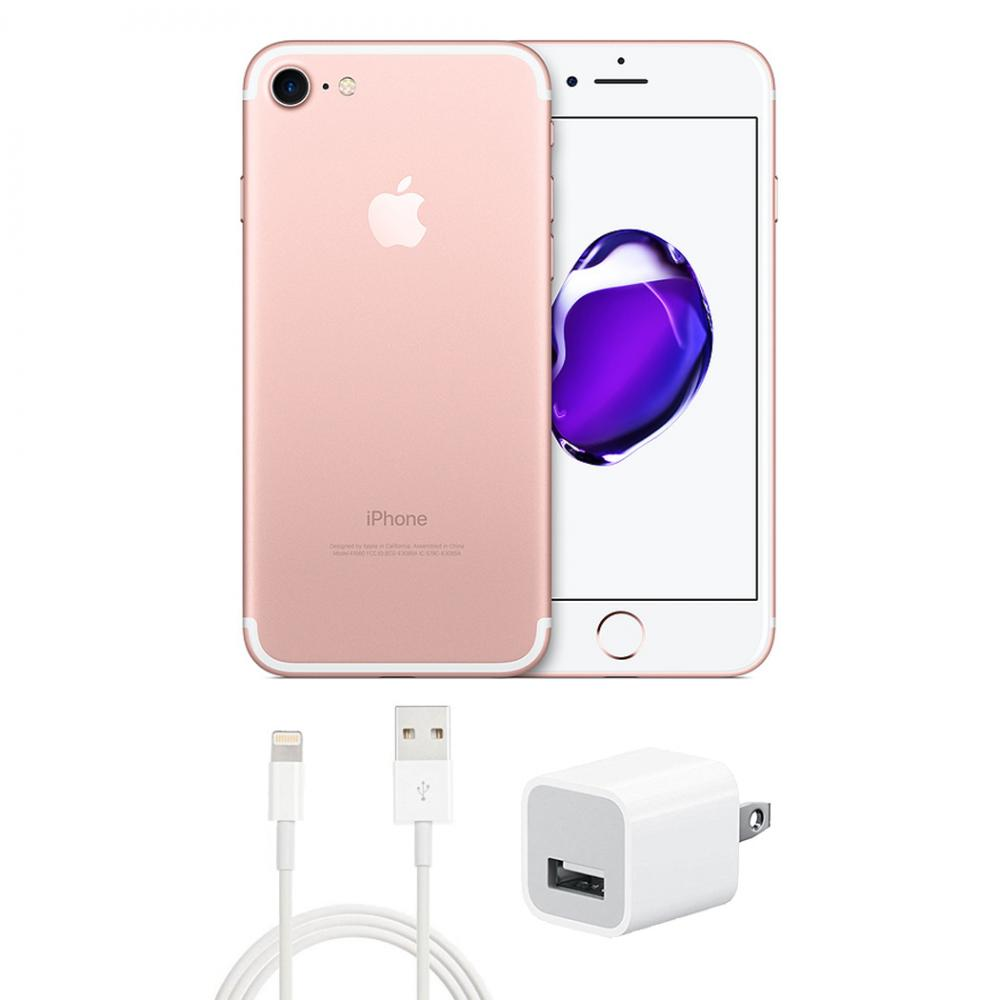 Details about Refurbished Apple iPhone 7 128GB GSM Unlocked Rose Gold (Fair  Condition)